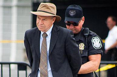 James Hansen arrested.jpg